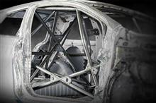 トヨタ ヴィッツGRMN(NSP131)用 FIA格式専用 溶接タイプ ロールバーが新発売