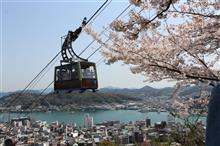 桜満開の尾道へ