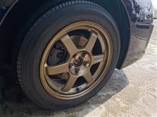 タイヤ交換などしてみた。