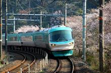 山中渓駅に桜🌸を見に行った😆