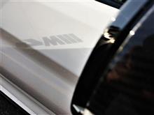 M4にホワイトレター。続き