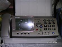 FAX新調 パナソニックKX-PZ500DL