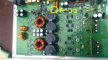 パワーアンプ(ジェネシス デュアルモノ)故障と修理