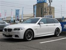 メンテナンスは大事...BMW F11ツーリング ビルシュタインショック
