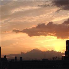 今日の富士山。18,4,7