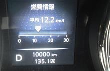 キリ番 10,000km♪