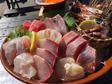 中之島漁港で魚を食べてきましたw