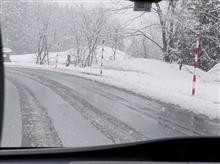 四月の冬景色