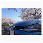 ミニSL乗車と桜見物