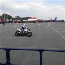 レンタルバイクで 大磯モトジムカーナを見に行った。①