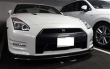 GT-R Track edition engineered by nismo 納車♪