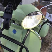 VespaPXのLEDヘッドライト