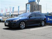 本格的な季節が来る前に...BMW E61 TEXAエアコンクリーニング