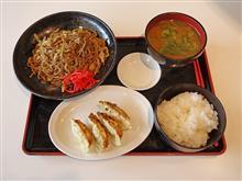 東名高速上り日本平PA しぞ~か豚汁定食990円
