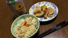 #ダイエット で #1日1食 生活3週目,山の #ばぁちゃん が作って持ってきてくれた #タケノコ #料理 に玉砕w