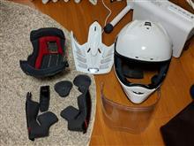 はじめてのヘルメット清掃