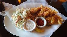 ある日の昼御飯40 アメリカのチェーンレストランで食べる Fish'n Chips Oregon / USA