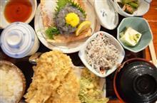 4月11日 茅ヶ崎まで生シラスを食べに。