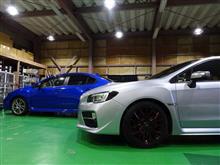 2台のSUBARU WRX S4