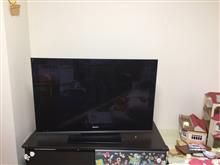 憧れの壁掛けTVへ挑戦☆