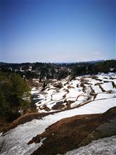 芝峠温泉と残雪の十日町の棚田を訪ねるドライブ!