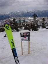 春スキー(スキー滑走19日目)