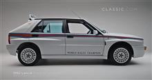 1992 Lancia Delta HF Integrale - White Martini Livery