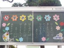 小学校入学式☆.。.:*・