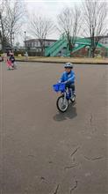 最近の自転車練習