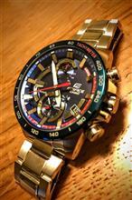 腕時計を新調!カシオ エディフィス トロロッソ限定モデル 2018年版