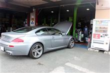 BMW E63 M6 1年点検