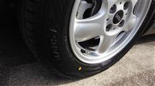 ONEのタイヤを新品交換