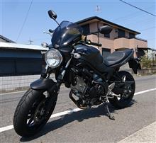 バイクの試乗