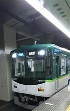 京阪西三荘駅でちょっと撮影~