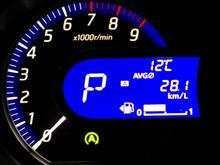 不定期デイズ燃費記録