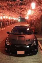 セリカ × 貫前神社 × 夜桜