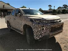 Spy Shots : Mitsubishi Triton facelift - Dynamic Shield Face Ⅱ ・・・・