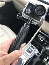 アクションカメラの車載映像