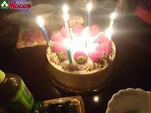 本日、誕生日♪