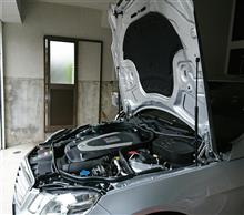 【E550】エンジンルームの整備性とインポーターへの要望