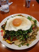 広島お好み焼き満腹で満足