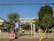 駒形神社(流山市東深井)の富士塚