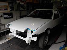 AE86 後期3ドア トレノGT-V フルレストア その12「防錆ワックス」