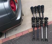 GTR 車高調オーバーホール準備