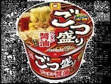 """昼😋□~~~ごつ盛り""""ワンタン醤油""""😉v"""