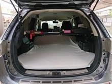 車中泊での寝心地UPへ
