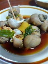 バイ貝とソイの味噌煮付け~ なまら呑みてぇ~(笑)