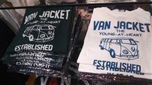 ワーゲンバスのTシャツ