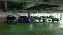 昨日は車オフ会。