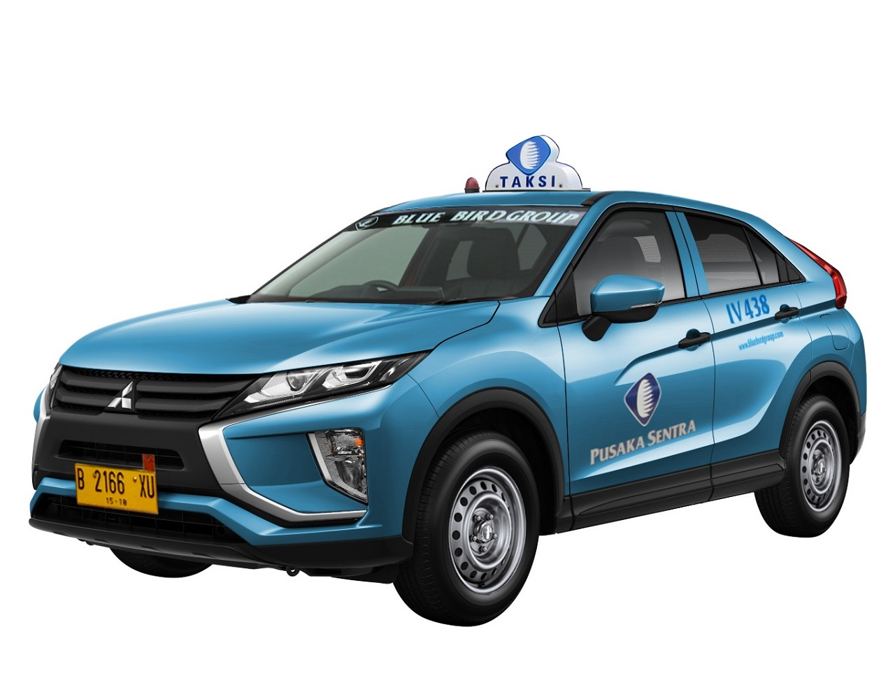 Mitsubishi Eclipse Cross Bluebird Group TAKSI ( TAXI ) !? ・・・・